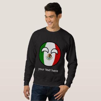 Moletom México Geeky de tensão engraçado Countryball