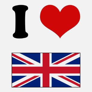 508414f1de Moletom Mim bandeira BRITÂNICA de Union Jack do amor do