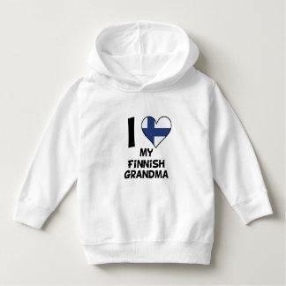 Moletom Mim coração minha avó finlandesa