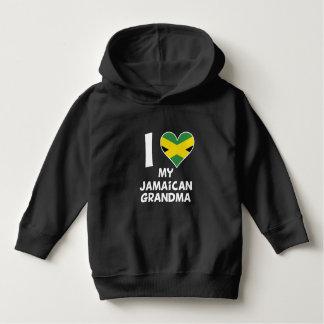 Moletom Mim coração minha avó jamaicana