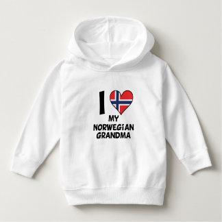 Moletom Mim coração minha avó norueguesa