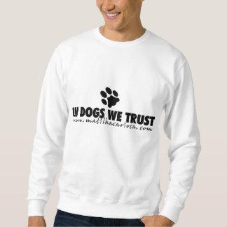 Moletom Moleton In Dogs We Trust
