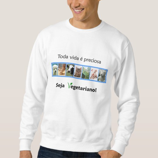 Moletom Moleton Vegetarianismo Idlarig