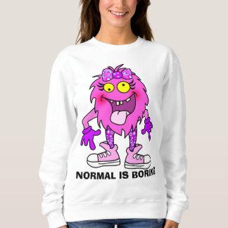 Moletom Monstro personalizado engraçado do fantoche
