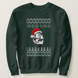 Moletom Natal feio australiano do cão de pastor Ho Ho Ho