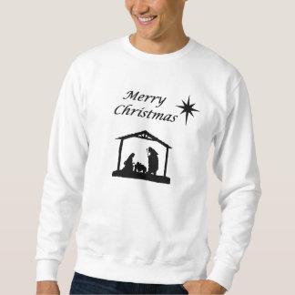 Moletom Natividade com Natal da estrela