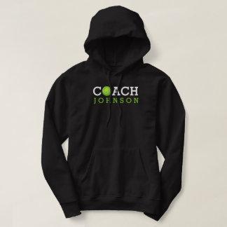 Moletom Nome do costume do treinador de tênis
