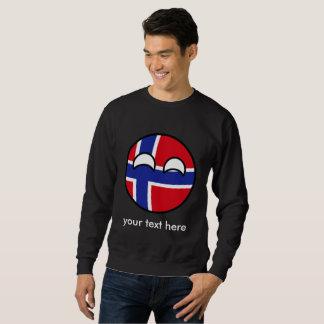 Moletom Noruega Geeky de tensão engraçada Countryball