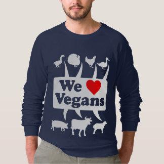 Moletom Nós amamos os Vegans II (brancos)