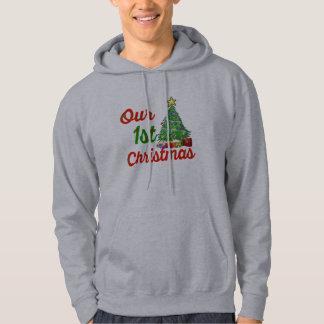 Moletom nosso primeiro design do hoodie da família da