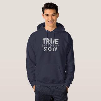 Moletom Notícia verdadeira da falsificação da história