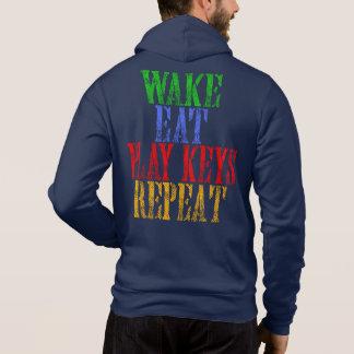 Moletom O acordar come a repetição das CHAVES do JOGO
