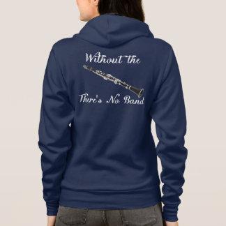 Moletom O Amer das mulheres do clarinete. App. Fecho de