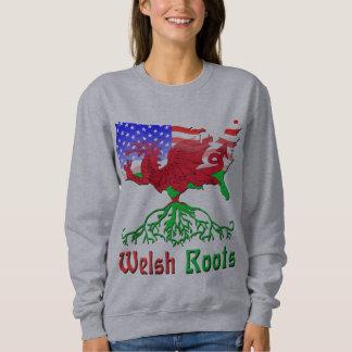 Moletom O americano de Galês enraíza o Hoodie