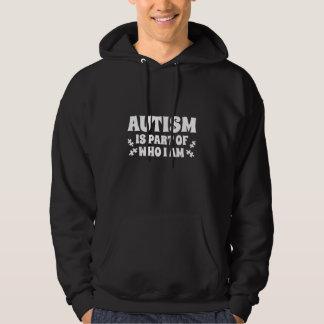 Moletom O autismo é parte de quem eu sou