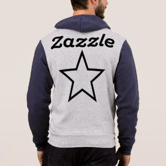 Moletom O Bella dos homens de Zazzle+Hoodie do Cheio-Fecho