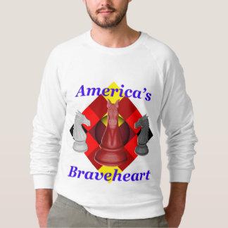 Moletom O Braveheart de América - cobalto