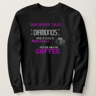 Moletom O café é minha camisola de BFF
