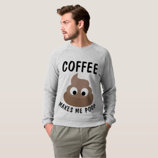 Moletom O CAFÉ FAZ-ME t-shirt & camisolas do TOMBADILHO