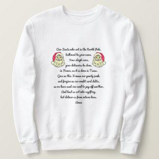 Moletom O espírito da camisola feia do Natal