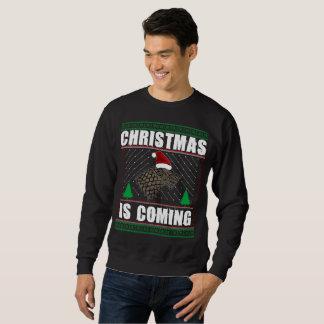 Moletom o Feliz Natal é tshirt de vinda