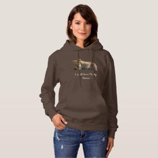 Moletom O hoodie das mulheres com filhotes de urso