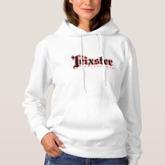 Moletom O Hoodie das mulheres dos skates de Trixster