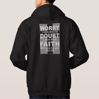 Moletom O Hoodie dos homens inspirados sobre a fé