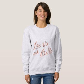 Moletom O La Vie o Belle do Est - camisola francesa