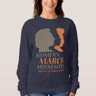 Moletom O março edição de Minnesota das mulheres, Duluth