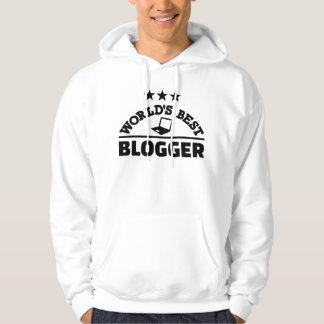 Moletom O melhor blogger do mundo