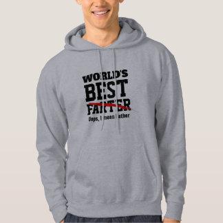 Moletom o melhor Farter oops eu significo o hoodie dos