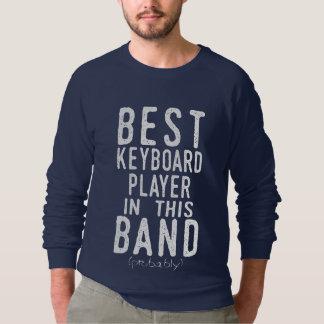 Moletom O melhor jogador de teclado (provavelmente)
