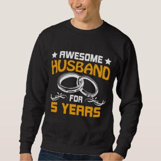 Moletom O melhor t-shirt para o marido. 5o Presente do