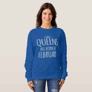 Moletom O Queens é nascido em fevereiro