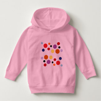 Moletom o rosa circunda o hoodie da criança pelo DAL