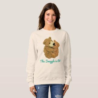 Moletom O Snuggle é camisola real