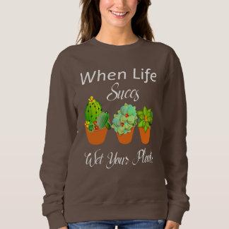 Moletom O Succulent planta o slogan engraçado do cacto