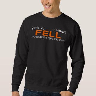 Moletom O t-shirt engraçado do estilo do vintage para CAIU