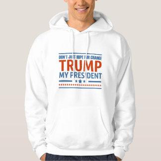 Moletom O trunfo é meu presidente