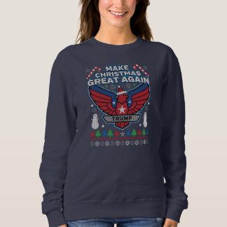 Moletom O trunfo faz a camisola feia do excelente do Natal