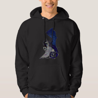 Moletom O unicórnio do abraço e o Hoodie eternos do dragão