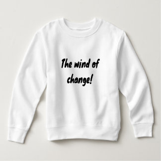 the wind of change!