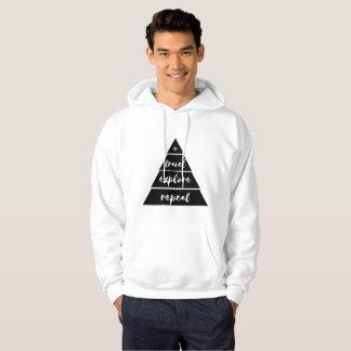 Moletom O viagem explora o hoodie da repetição