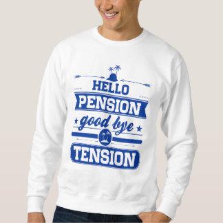 Moletom Olá! tensão da pensão adeus