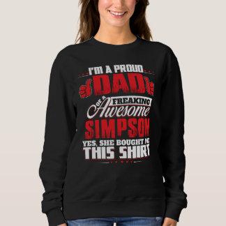 Moletom Orgulhoso ser t-shirt de SIMPSON