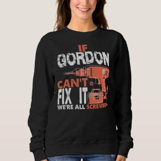 Moletom Orgulhoso ser Tshirt de GORDON