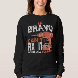 Moletom Orgulhoso ser Tshirt do BRAVO