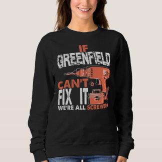 Moletom Orgulhoso ser Tshirt do GREENFIELD