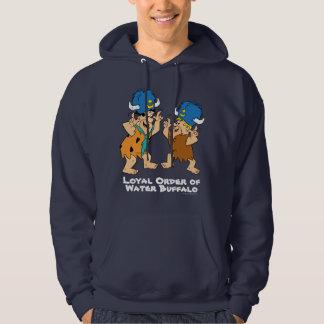 Moletom Os Flintstones | Fred & búfalos de água da